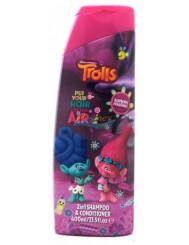Trolls 2-in-1 Raspberry Fragrance 400ml – szampon i odżywka