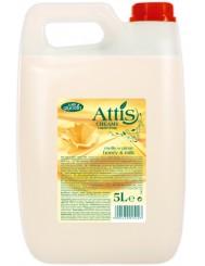 Attis Mleko I Miód Mydło W Płynie Z Gliceryną 5L
