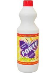 Forte Super Wybielacz Cytryna 1L – środek do wybielania, czyszczenia, zmywania oraz udrożniania