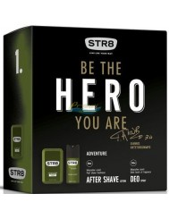 STR8 Hero Adventure Zestaw dla Mężczyzn Woda po Goleniu 50 ml + Dezodorant w Aerozolu 150 ml