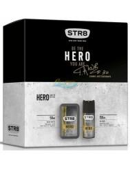 STR8 Hero Zestaw dla Mężczyzn Woda Toaletowa 50 ml + Dezodorant w Aerozolu 150 ml