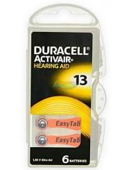 Duracell Activair Baterie Słuchawkowe 13 6 szt