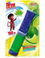 Dr Devil Point Block 3-w-1 Lime Twister Punktowy WC Żel 75 ml