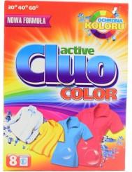 Cluo Active Proszek do Prania Tkanin Kolorowych 600 g (8 prań)