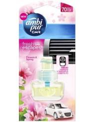 Ambi Pur Car Flowers & Spring Wkład do Samochodowego Odświeżacza Powietrza 7 ml