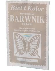 Barwnik do Tkanin Uniwersalny Kolor Szary 10 g