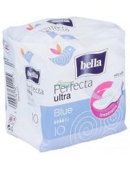 Bella perfecta ultra blue 10 szt – super-cienkie, oddychające podpaski higieniczne