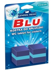 General Fresh Blu Kostka do Spłuczki WC o Zapachu Oceanu 2x 50 g