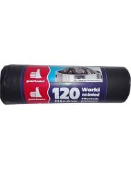 Partner Worki na Śmieci LDPE 120 L 10 szt