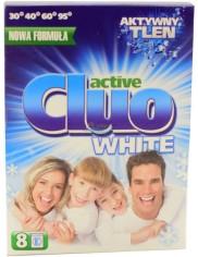 Cluo Active White Proszek Do Prania Białego 600g (8 prań)