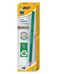 Ołówek Bezdrzewny Grafitowy z Żywicy Syntetycznej Bic Evolution Ecolutions 12 szt