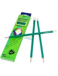 Ołówki Trójkątne Elastyczne MF1619-T 12 szt