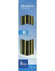 Ołówki z Gumką Tetis KV05 -B 12 szt