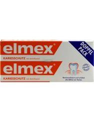 Elmex Kariesschutz Niemiecka Pasta do Zębów do Codziennego Stosowania 2x75 ml