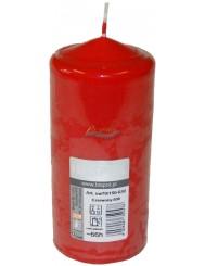 Bispol Świeca Walec 70x120 mm 50 h Czerwona 1 szt
