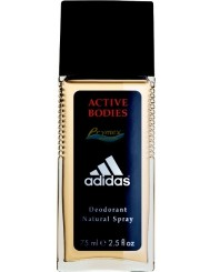 Adidas Active Bodies Męski Dezodorant w Naturalnym Spray'u 75 ml