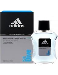 Adidas Ice Dive Męska Woda po Goleniu 100 ml – pomaga łagodzić podrażnienia skóry