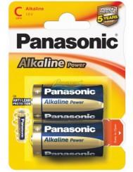 Panasonic Alkaline Power LR14 Baterie Alkaliczne 1,5V 2 szt