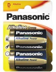 Panasonic Alkaline Power LR20 Baterie Alkaliczne 1,5V 2 szt