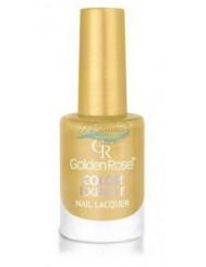 Golden Rose Color Expert Trwały Lakier do Paznokci 69 Złoty Brokat 10,2 ml