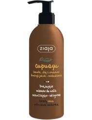Ziaja Cupuacu Brązujące Mleczko do Ciała Nawilżająco-Odżywcze 300 ml – karite, olej z orzechów brazylijskich, makadamia