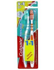 Colgate Navigator Plus Medium Szczoteczka do Zębów Średnia 1+1 szt Gratis