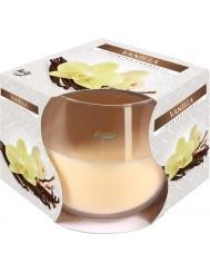 Bispol Aura Scented Candle Vanilla Świeca Zapachowa Wanilia 1 szt