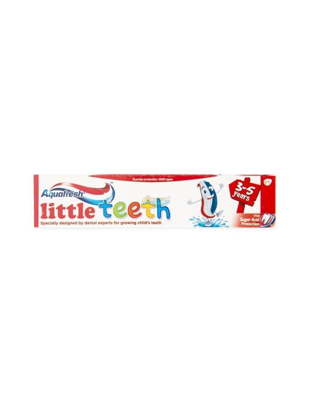 Aquafresh Kids Potrójna Ochrona Pasta Do Zębów Dla Dzieci W Wieku 3-5 Lat 50ml