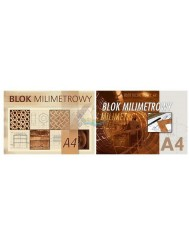 Blok Milimetrowy A4 20 kartek 1 szt