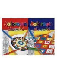 Kolorowanka Kolorowe Mozaiki A4 1 szt