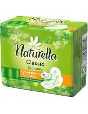 Naturella Classic Normal Camomile 10szt - zapachowe podpaski higieniczne ze skrzydełkami