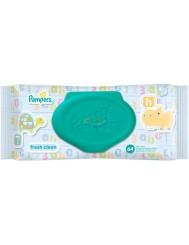 Pampers Fresh Clean Chusteczki Pielęgnacyjne dla Dzieci 64 szt