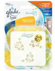 Glade Brise Discreet Fresh Lemon Odświeżacz Powietrza z Magnesem 8 g