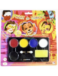 Farby do Malowania Twarzy 4g x 5 kolorów – przebadane dermatologicznie