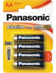 Panasonic Baterie AA LR6 Alkaliczne 1,5V 4 szt