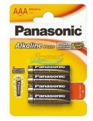 Panasonic Baterie AAA LR03 Alkaliczne 1,5V 4 szt