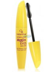 Golden Rose Maxim Eyes Mascara Tusz do Rzęs Wydłużający Kolor Czarny 9,3 ml