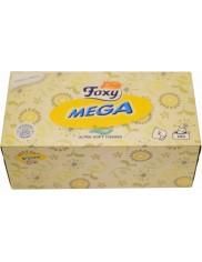 Chusteczki Foxy Mega Ultra Miękkie 2 Warstwowe 200 szt – 100% celulozy