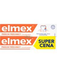Elmex Przeciw Próchnicy Pasta do Zębów z Aminofluorkiem 2x75 ml