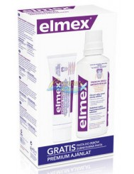 Elmex Przeciw Erozji Płyn do Płukania Jamy Ustnej 400 ml + Pasta do Zębów 75 ml Gratis
