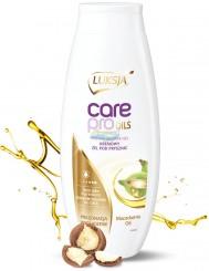 Luksja Care Pro Oils Macadamia Oil Kremowy Żel pod Prysznic Pielęgnacja Wygładzenie 500 ml