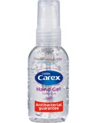 Carex Hand Gel Sensitive Antybakteryjny Żel do Rąk 50 ml