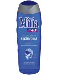 Mitia Fresh Force Męski Szampon i Żel pod Prysznic 400 ml