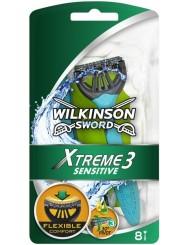 Wilkinson Sword Xtreme3 Sensitive Jednorazowe Maszynki do Golenia 6+2 szt