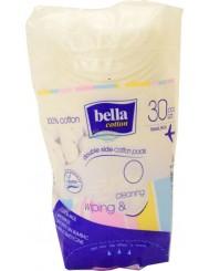 Bella Cleaning and Wiping Bawełniane Płatki Kosmetyczne 30 szt