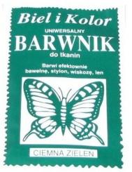 Barwnik Do Tkanin Cimna Zieleń
