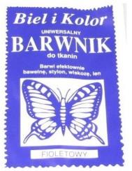 Barwnik Do Tkanin Fiolet