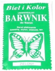 Barwnik Do Tkanin Zielony