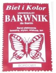 Barwnik Do Tkanin Bordo