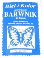 Barwnik Do Tkanin Niebieski